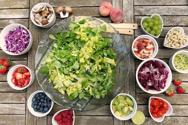salade nutrition fruits légumes santé healthy alimentation naturel