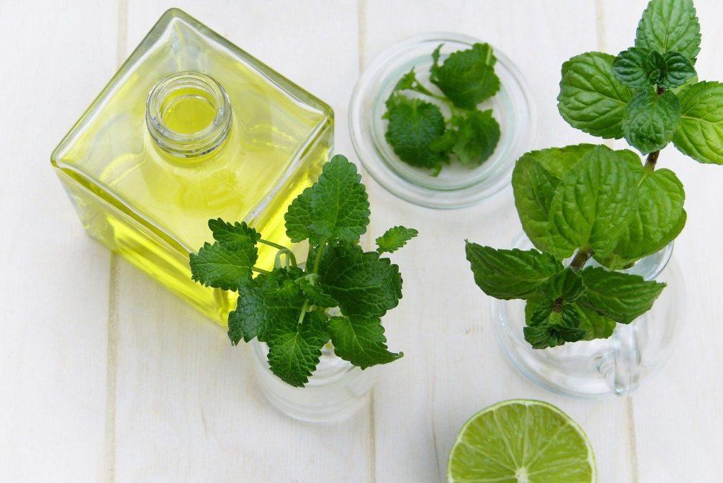 huile essentielle de menthe poivrée analgésique