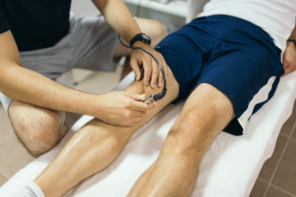 arthrose de genou traitée aux ondes de choc extracorporelles gonarthrose
