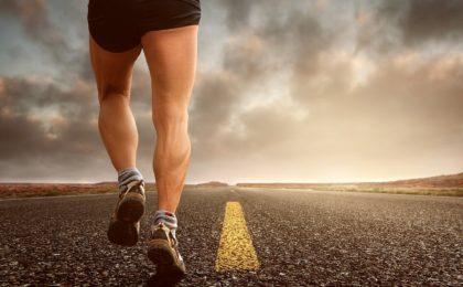 courir marathon santé route corps mollets