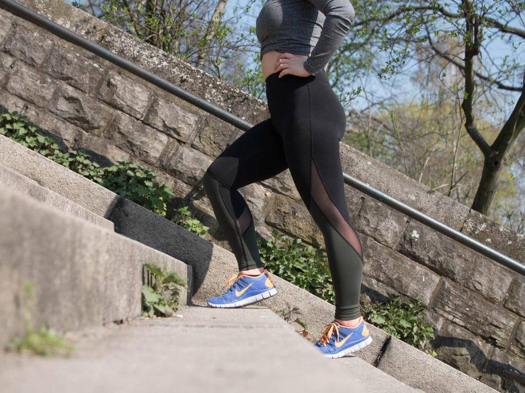 activité physique embonpoint surpoids baskets bien-être