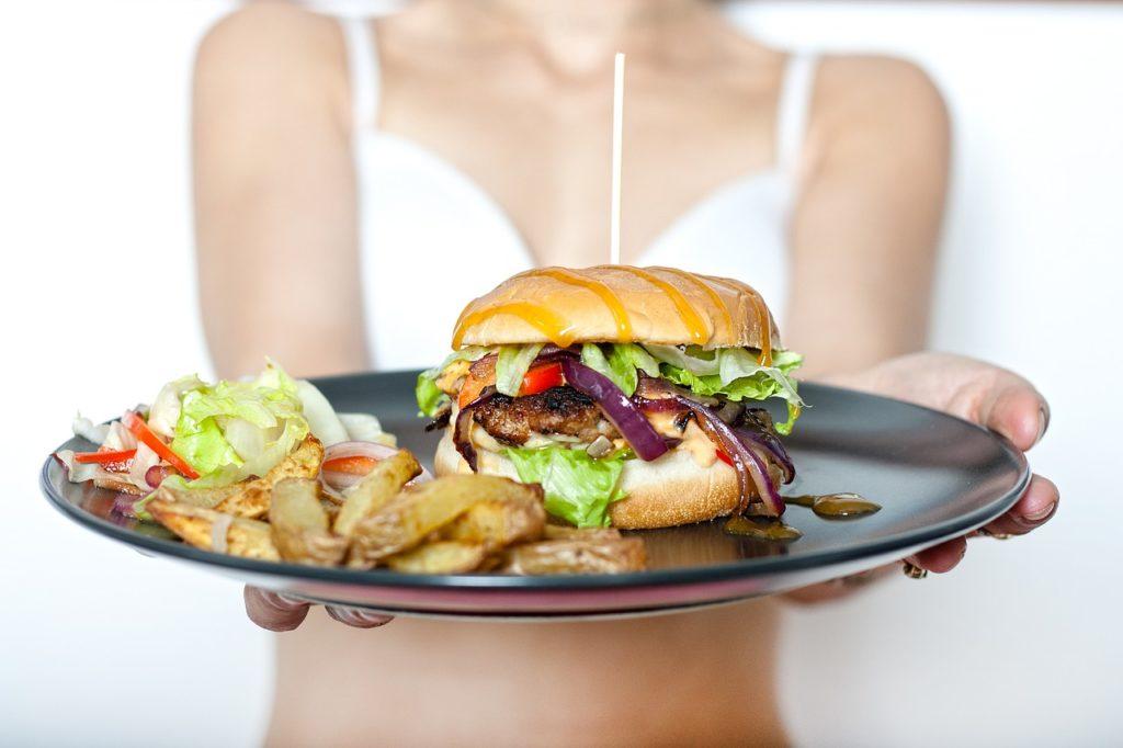 burger alimentation surpoids bien-être